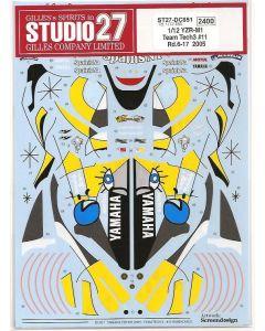 "ST27DC851 Studio 27 1/12 Yamaha YZR-M1 ""Tech3"" #11 MotoGP 2005 (rounds 6 - 17)"