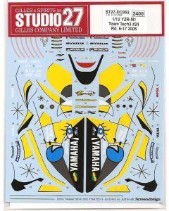 "ST27DC852 Studio 27 1/12 Yamaha YZR-M1 ""Tech3"" #24 MotoGP 2005 (rounds 6 - 17)"