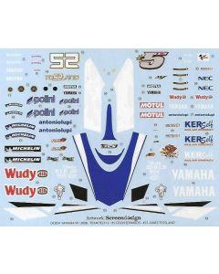 "ST27DC854 Studio 27 1/12 Yamaha YZR-M1 ""Tech3"" #5/#52 MotoGP 2008"
