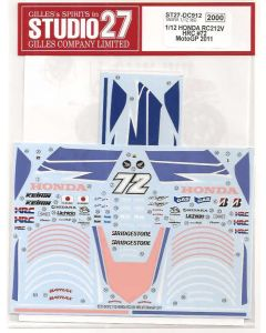 ST27DC912 Studio 27 1/12 Honda RC212V #72 MotoGP 2011