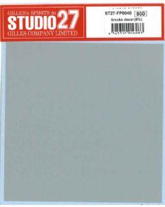 ST27FP0040 Studio 27 Smoke decal 5%