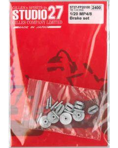 ST27FP20100 Studio 27 1/20 McLaren MP4/8 brake set