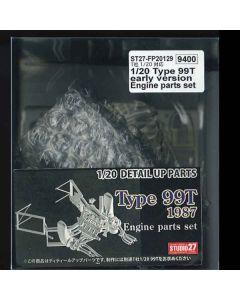 ST27FP20129 Studio 27 1/20 Lotus 99T Engine parts set early season version