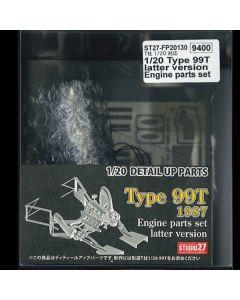 ST27FP20130 Studio 27 1/20 Lotus 99T Engine parts set late season version