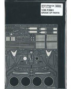 ST27FP20134 Studio 27 1/20 Ferrari F2001 grade up parts