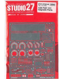 ST27FP20146 Studio 27 1/20 Fiat 131 grade up parts