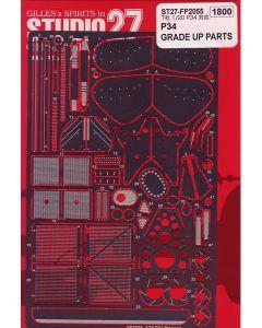 ST27FP2055 Studio 27 1/20 Tyrrell P34 grade up parts