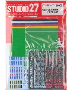 ST27FP24177 Studio 27 1/24 Seat belt parts set