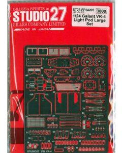 ST27FP24205 Studio 27 1/24 Mitsubishi Galant VR-4 light pod large set