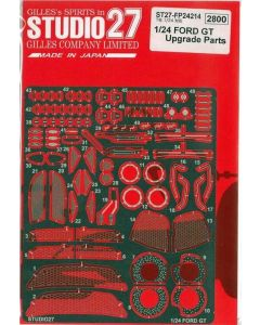 ST27FP24214 Studio 27 1/24 Ford GT upgrade parts