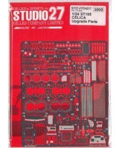 ST27FP24217 Studio 27 1/24 Toyota Celica ST185 Upgrade Parts