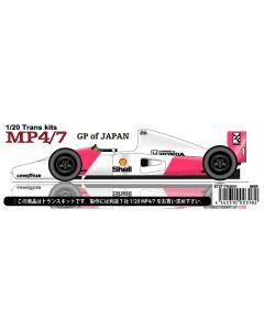 ST27TK2031 Studio 27 1/20 McLaren MP4/7 Japan 1992