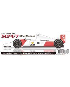 ST27TK2048R Studio 27 1/20 McLaren MP4/7 Monaco 1992