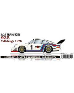"ST27TK2466 Studio 27 1/24 Porsche 935 ""Martini"" #1 6 Hours of Vallelunga 1976 winner"