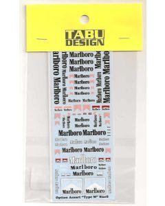 TABU00003 Tabu Design Assorted option decals 1980's (MS)