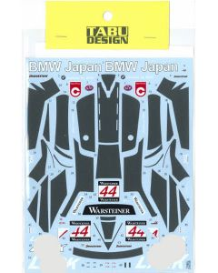"""TABU24038 Tabu Design 1/24 McLaren F1-GTR """"LARK"""" #44 Suzuka 1000km 1997 FIA GT Championship"""