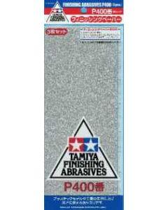 TAM87054 Tamiya Finishing Abrasives P400