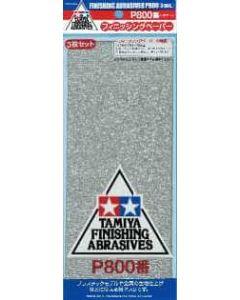 TAM87056 Tamiya  Finishing Abrasives P800