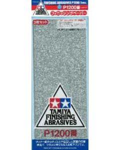 TAM87058 Tamiya Finishing Abrasives P1200