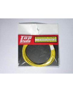 TSTD23052 Top Studio 2.0mm shrink tube (yellow)