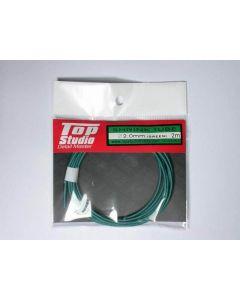 TSTD23053 Top Studio 2.0mm shrink tube (green)