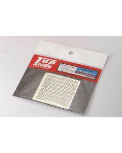 TSTD23107 Top Studio 0.7mm to 1.3mm washers