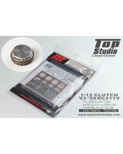 TSTD23166 Top Studio 1/12 Honda RC211V 2003-2006 clutch set
